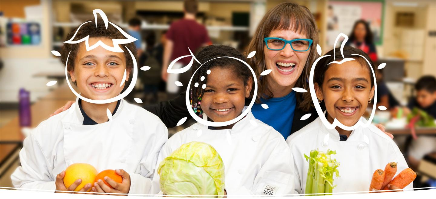 Image of Our mission is to inspire kids to eat their vegetables