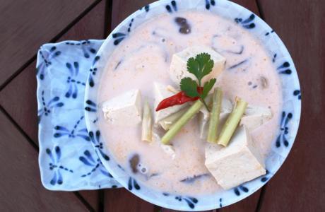 Image of Vegetarian Thai Coconut Soup