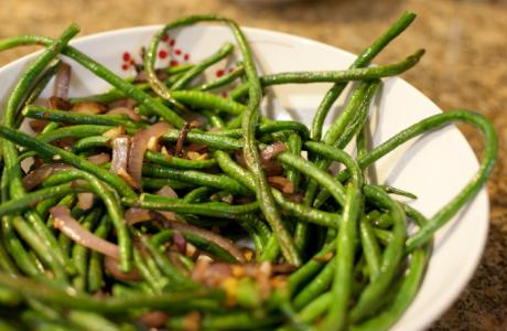 Image of Fiery Chinese Green Beans