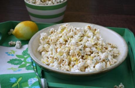 Image of Lemon Dill Green Popcorn Recipe