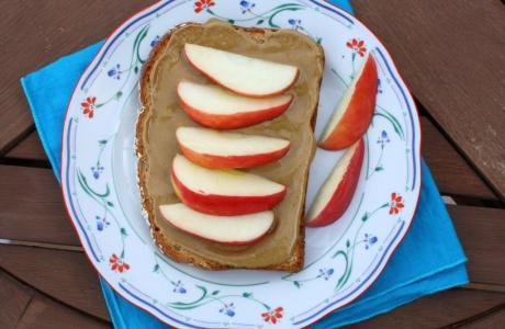 Image of Food Literacy Sandwich: Sunflower Seed Butter & Apple Sandwich