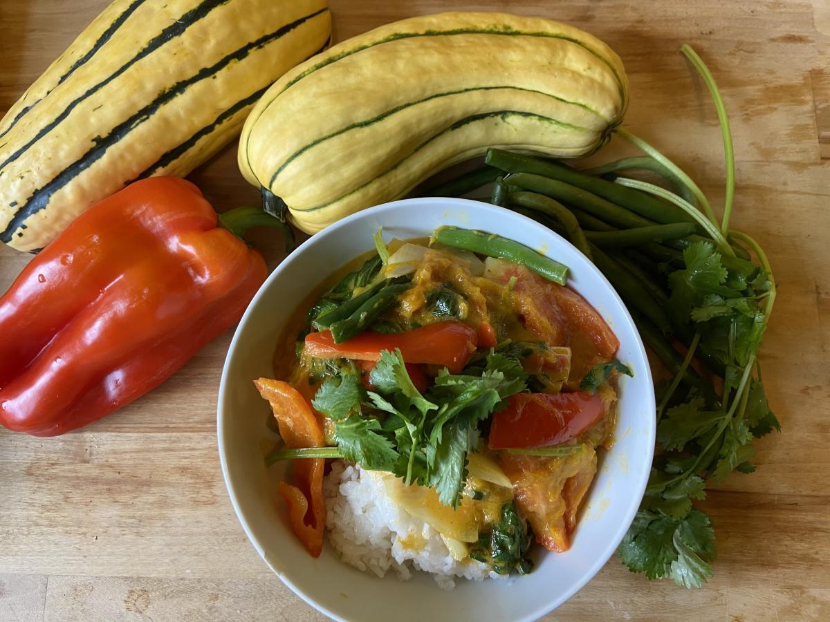 Kabocha Squash Thai Red Curry - Food Literacy Center