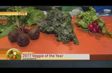 Cambi Brown and Chef Kurt Spataro Help Announce Veggie of the Year Candidates