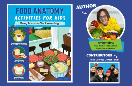 Food Anatomy Activities for Kids book cover