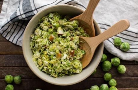 Brussels Sprout & Pear Salad