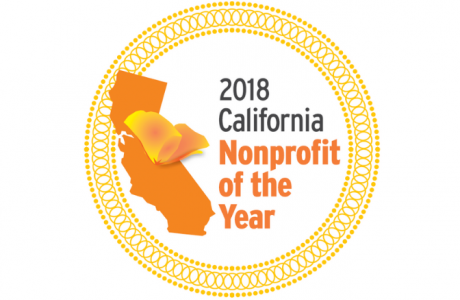 California Nonprofit of the Year logo