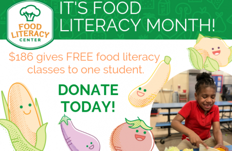 Food Literacy Month logo