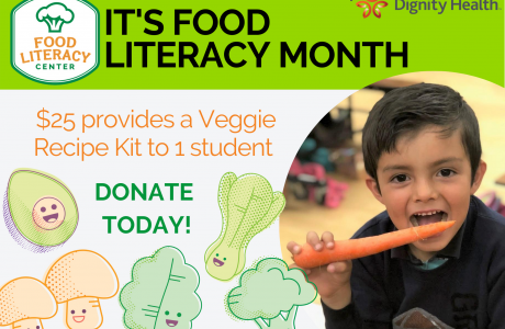 Food Literacy Month graphic