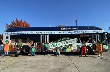 SacRT Holiday Bus