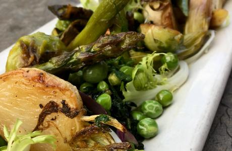 Seasonal Vegetable Plate at Magpie Cafe