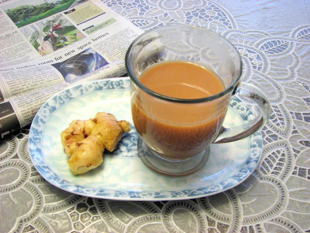 Ginger Milk Tea Teh Halia