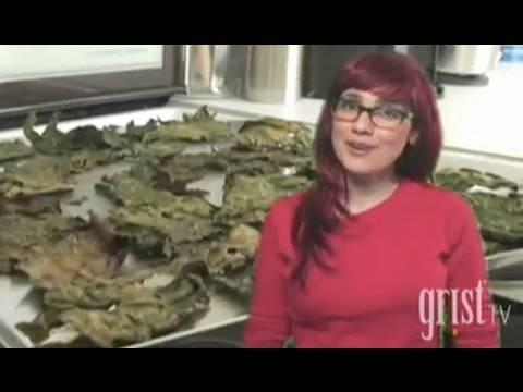 Kale Chips Video