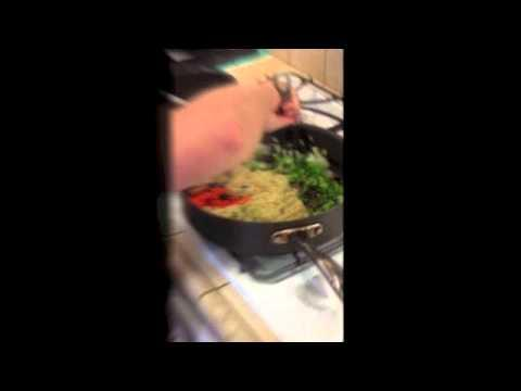 Short Order Cooks Create Gourmet Quinoa Dish!