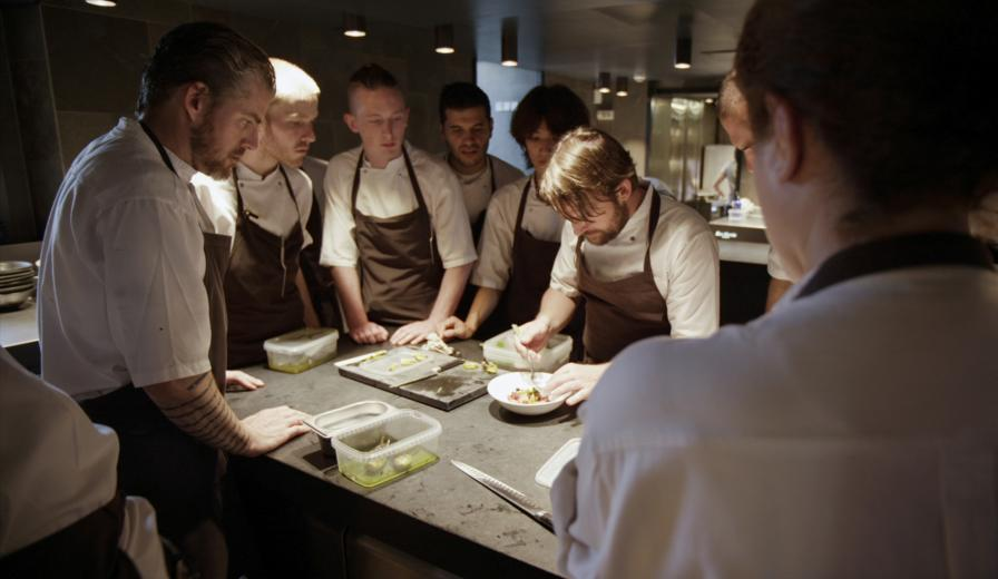 René Redzepi in NOMA: MY PERFECT STORM, a Magnolia Pictures release. Photo courtesy of Magnolia Pictures. Photo credit: Pierre Deschamps