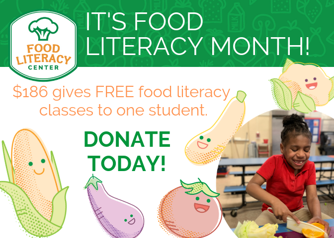 It's Food Literacy Month