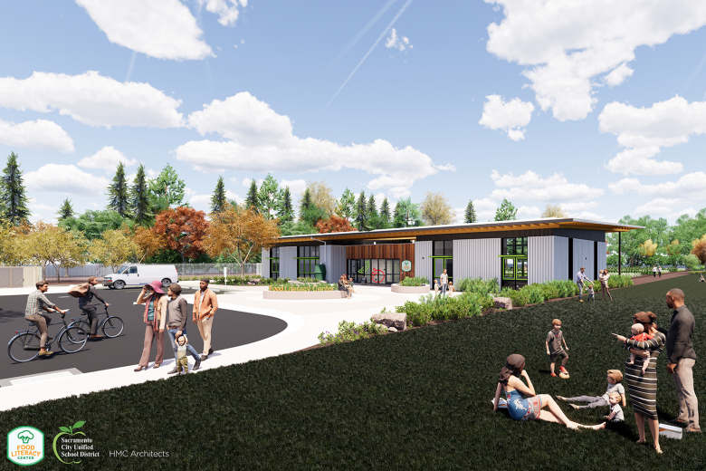 Rendering of Food Literacy Center