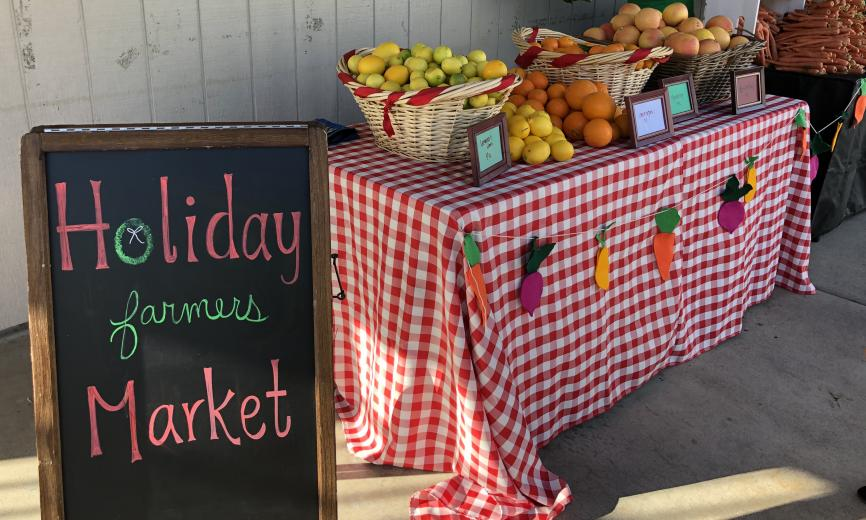 Kids Holiday Farmers Market
