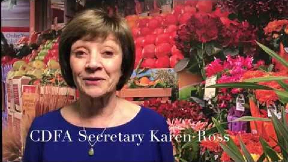 CDFA Secretary Karen Ross on Food Literacy